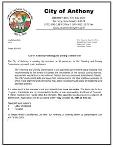 NOTICE OF INVITATION TO RFP