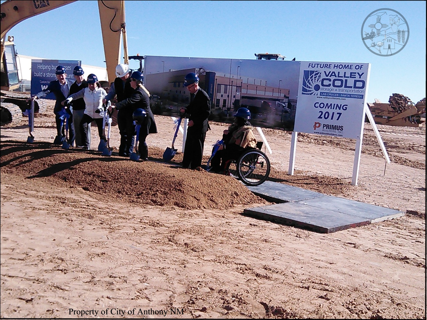 Valley Cold Storage Ground Breaking – City of Anthony NM