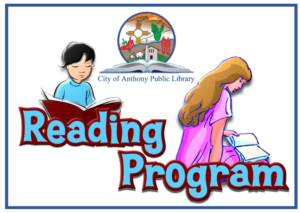 Anthony NM Library Reading Program @ Anthony NM Library