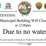 Municipal Complex Closed