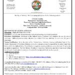New Employment Opportunity – Municipal Court Clerk – Part time