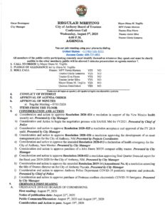 Board of Trustees (BOT) Special Meeting Presentation of City Employee Health Insurance Options for FY 21/22 @ City Municipal Complex